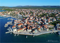 O Pirovcu - ptičja perspektiva