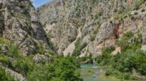 rijeka zrmanja - kanjon