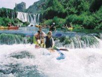 rijeka zrmanja - canoe safari